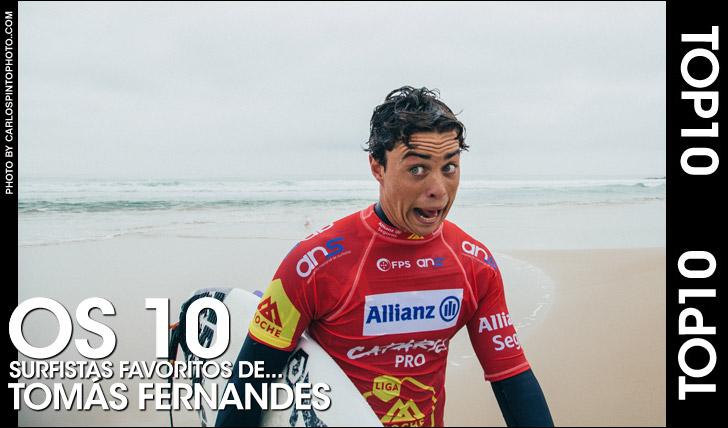 27200Top10 | Os 10 surfistas preferidos de… Tomás Fernandes