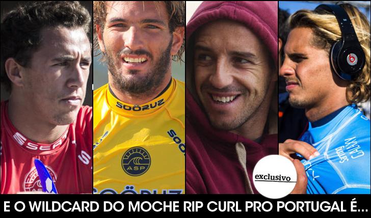 27398Vasco, Frederico, Nic e Saca, quem será o wildcard em Peniche?