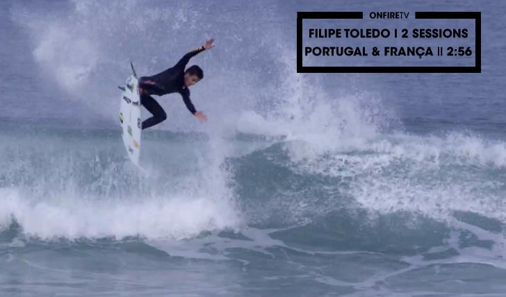 27887Filipe Toledo | 2 Sessions | PT e França || 2:56