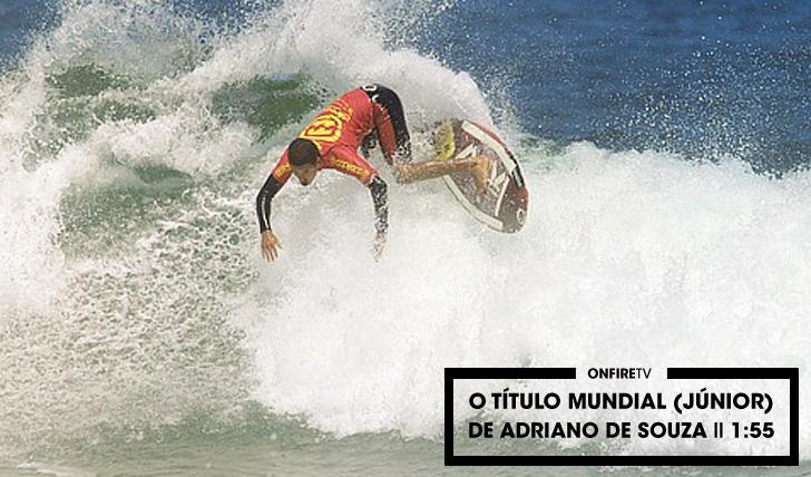 27596O título mundial (júnior) de Adriano de Souza || 1:55