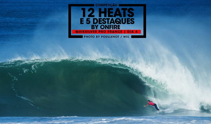 27674Quiksilver Pro France | Dia 4 | 12 heats e 5 destaques