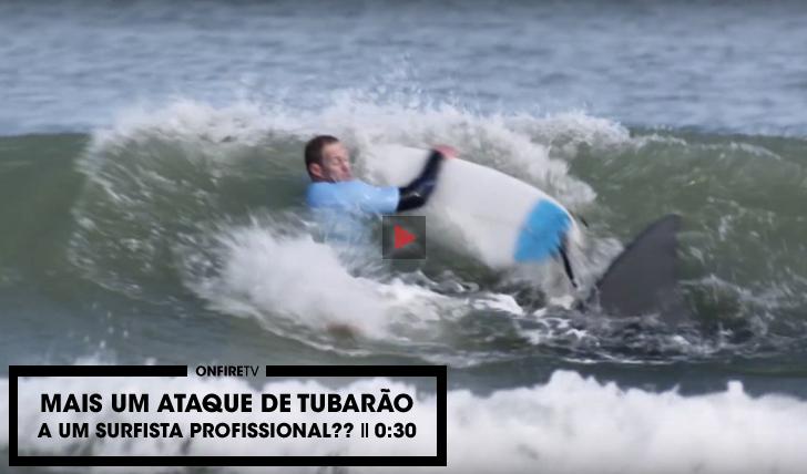27800Mais um surfista profissional atacado por um tubarão? || 0:30