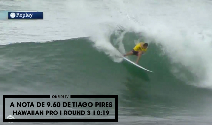 28718A nota de 9.60 de Tiago Pires no Hawaiian Pro || 0:19