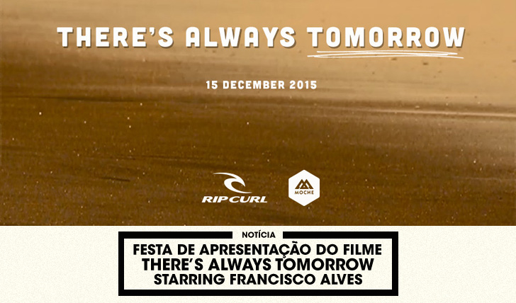 "29028Francisco Alves apresenta ""There's Always Tomorrow"" 