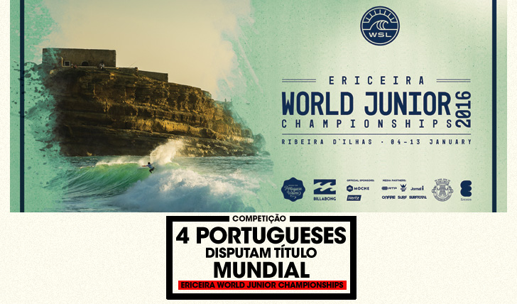 291984 portugueses disputam título mundial no Ericeira World Junior Championships