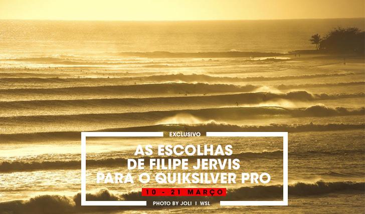 30402As escolhas de Filipe Jervis para o Quiksilver Pro