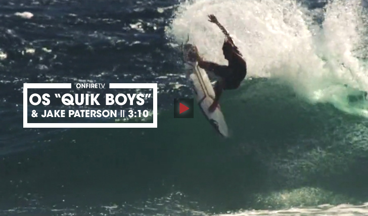 "30701O ""Quik Boys"" & Jake Paterson 