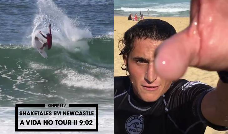 30283Snaketales em Newcastle | A vida no Tour da WSL || 9:02