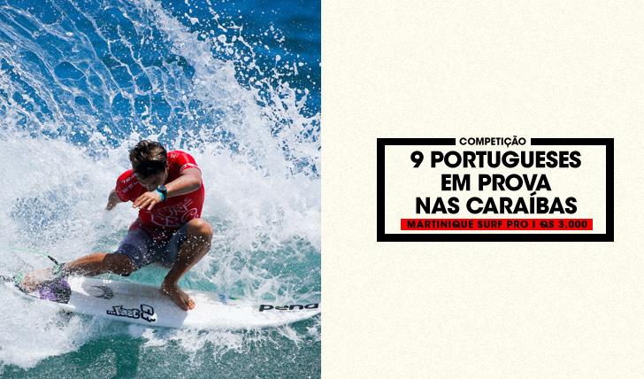 310229 portugueses em prova nas Caraíbas | Martinique Surf Pro