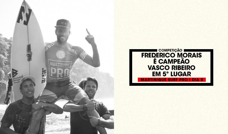 31124Frederico Morais vence Martinique Surf Pro | Vasco Ribeiro em 5º lugar