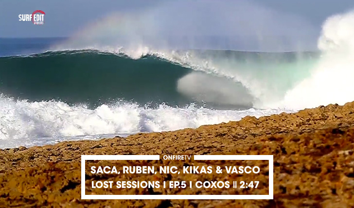 31226Saca, Ruben, Nic, Kikas & Vasco | Lost Sessions | Coxos || 2:47