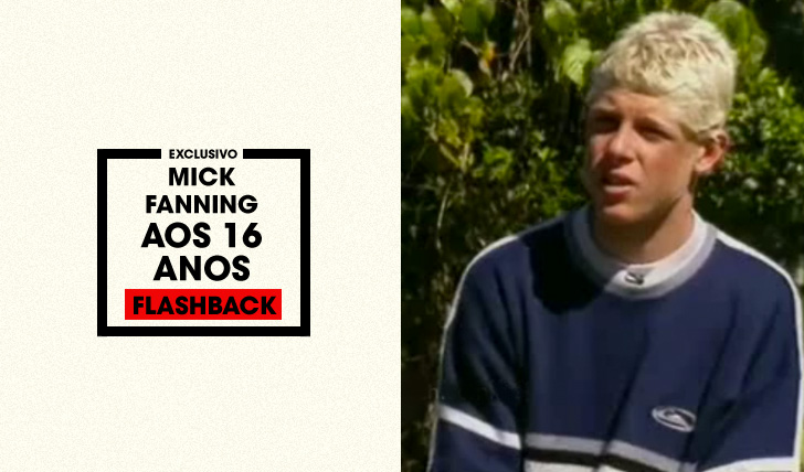 31522Flashback | Mick Fanning aos 16 anos