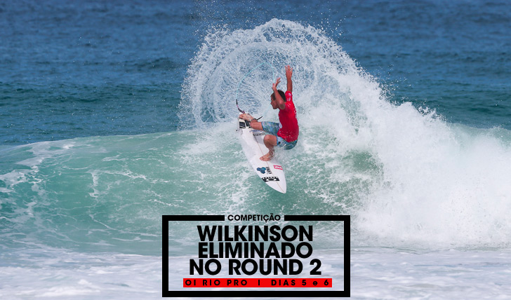 31394Matt Wilkinson eliminado no round 2 do Oi Rio Pro