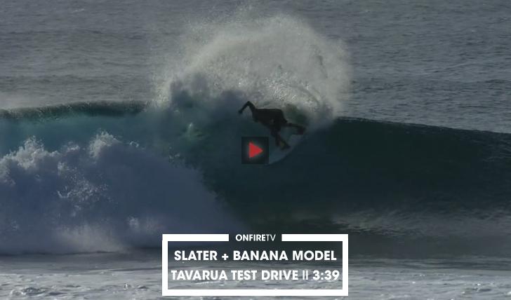 "31239Slater testa ""Banana Model"" | Tavarua || 3:39"