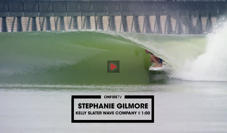 31283Um tubo épico de Stephanie Gilmore na KS Wave Pool || 1:00