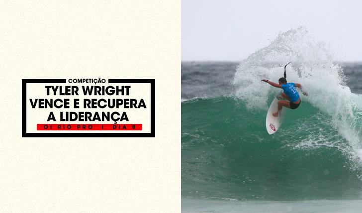 31447Tyler Wright vence Oi Rio Pro e recupera a liderança do tour