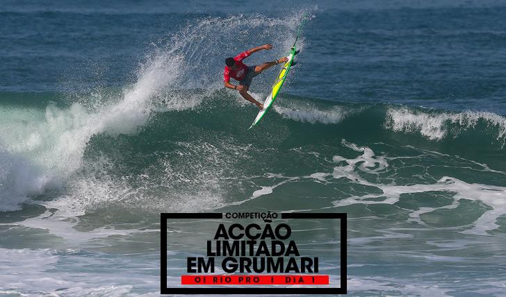 31326Acção limitada em Grumari | Oi Rio Pro | Dia 1