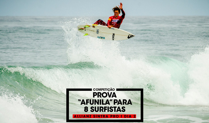"31802Allianz Sintra Pro ""afunila"" para 8 surfistas | Dia 2"