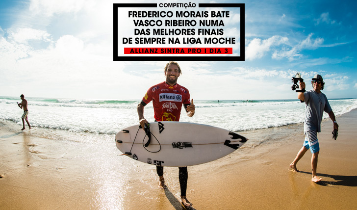 Frederico Morais, the champ. Photo by Pedro Mestre/Liga MOCHE