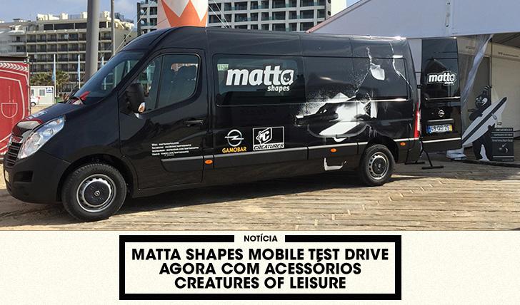 31973MattaShapes Mobile Test Drive agora com acessórios Creatures of Leisure
