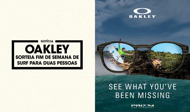 31875Ganha um fim de semana de surf com a Oakley