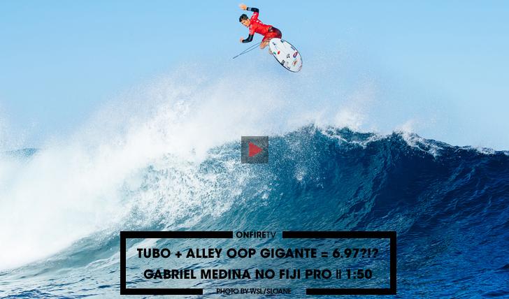 31909Tubo + Alley Oop gigante = 6.97?!?! | Medina no Fiji Pro || 1:50
