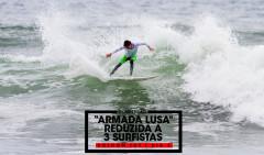 Frederico Magalhães surfou bem mas foi eliminado. Photo Volcom TCT