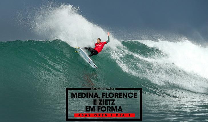 32264Medina, Florence e Zietz em forma em Jeffreys Bay | Dia 1