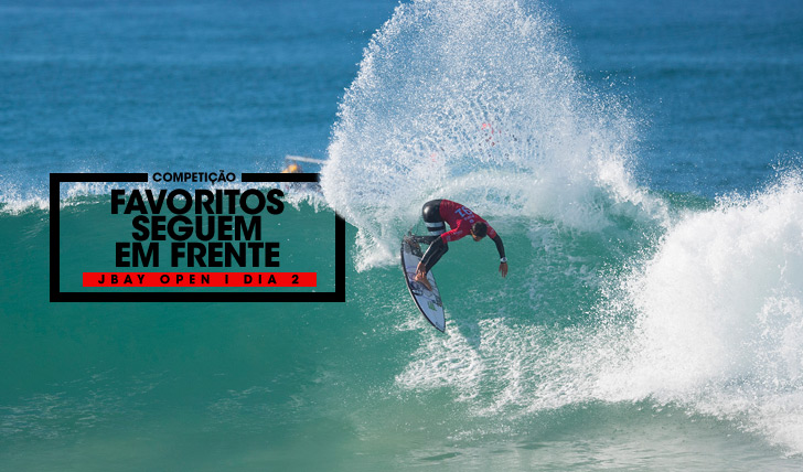 32296Poucas surpresas no dia 2 do JBay Open