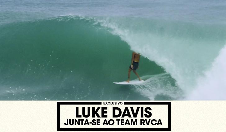 32355Luke Davis junta-se à família RVCA