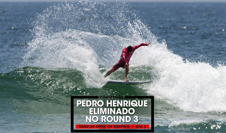 32674Pedro Henrique eliminado no Vans US Open of Surfing
