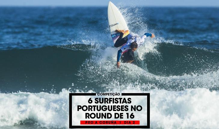 322756 portugueses no round de 16 do Pro A Coruña | Dia 2