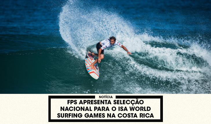 32287FPS apresenta selecção para o ISA World Games na Costa Rica