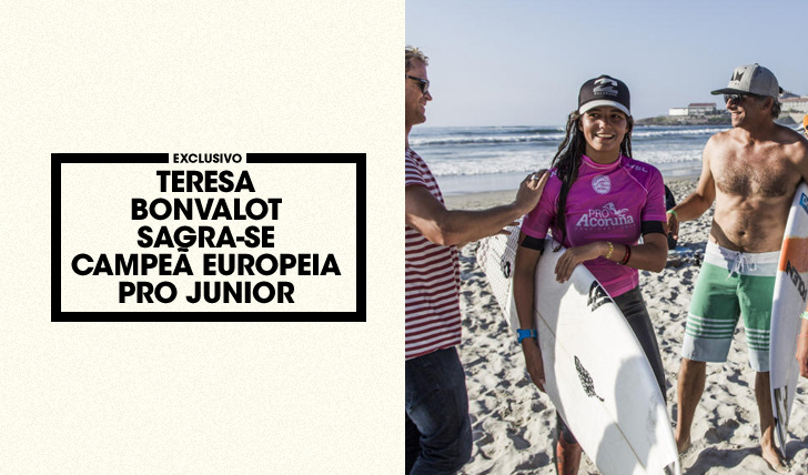 32427Teresa Bonvalot sagra-se campeã Europeia Pro Junior