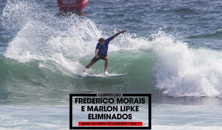 32620Frederico Morais e Marlon Lipke eliminados no Vans US Open