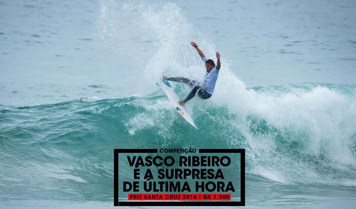 "32464Vasco Ribeiro junta-se ao ""draw"" do Pro Santa Cruz 2016"