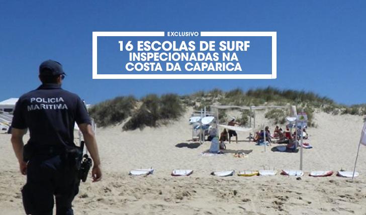 3294416 escolas de surf inspecionadas na Costa da Caparica