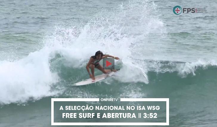 32907A selecção nacional na Costa Rica | Free surf e abertura || 3:52