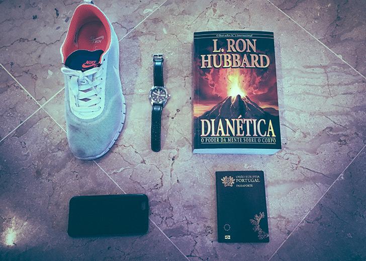 Os objectos obrigatórios de Francisco Duarte para uma viagens!
