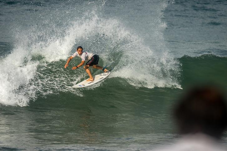 Guilherme Fonseca está já no round 4 do quadro principal. Photo by ISA I Evans