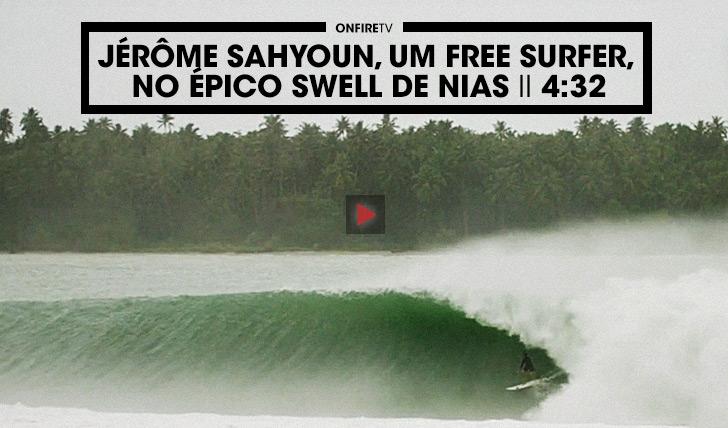 33223Jérôme Sahyoun, um free surf no swell épico de Nias II 4:32