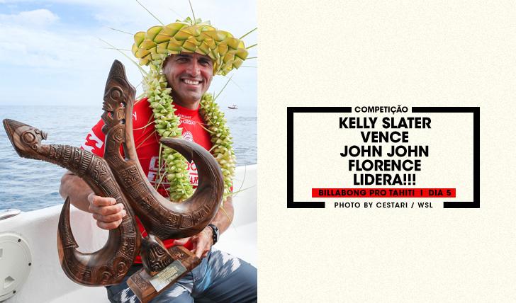 33249Slater vence, John John lidera | Billabong Pro Tahiti | Dia 5