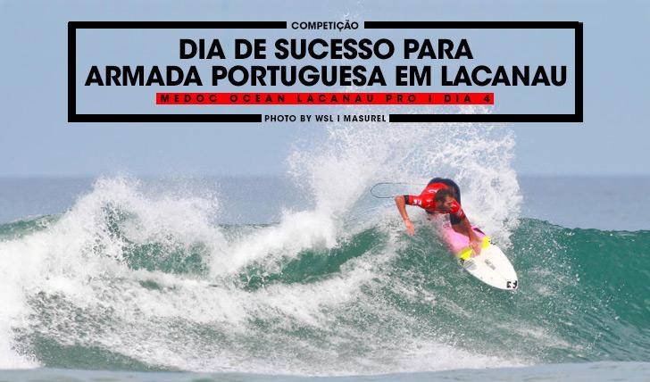 Frederico Morais foi fulminante no seu heat de estreia em Lacanau.