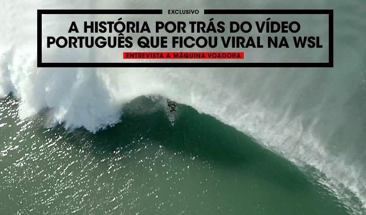 32703A História por trás do vídeo português que ficou viral na WSL