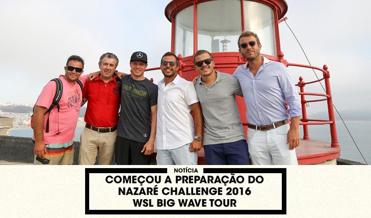 33268Começou a preparação do Nazaré Challenge 2016