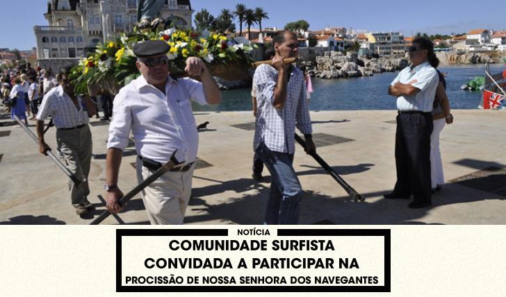 A Procissão de Nossa Senhora dos Navegantes. Photo arquivo CM Cascais