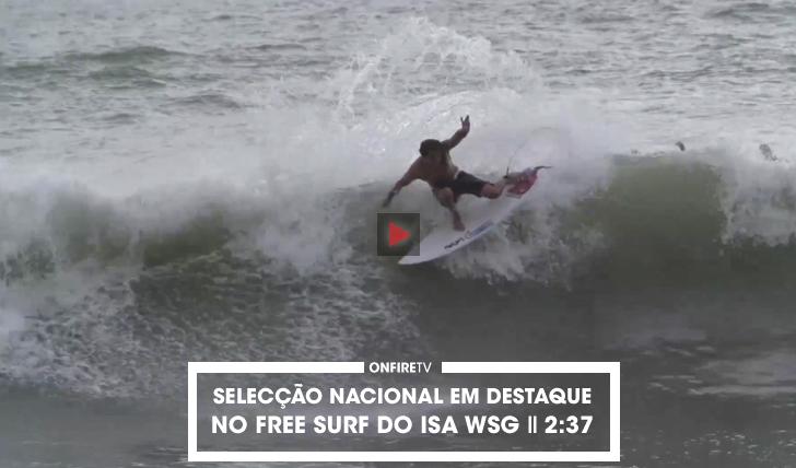 32823A selecção nacional na Costa Rica | ISA Free Surf || 2:37