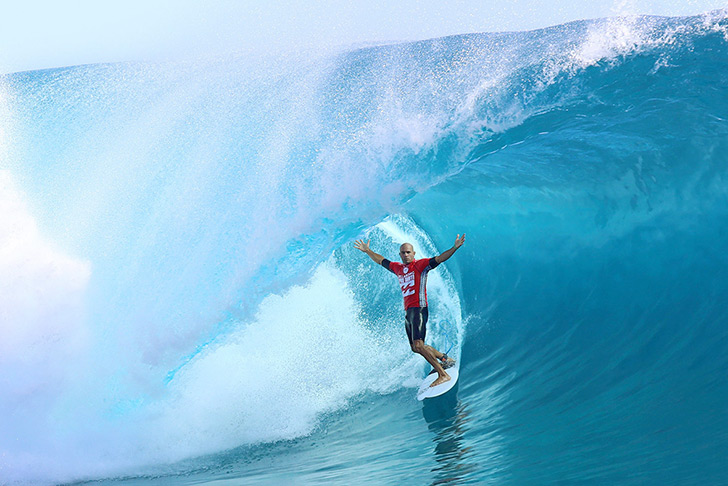 Slater, no word needed! Photo by WSL