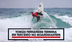 Tomás Fernandes fez uso do seu preciso backside para abrir a perna europeia de QSs com um grande resultado!