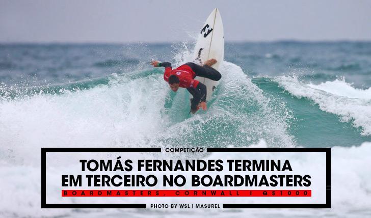 33015Tomás Fernandes é terceiro no Boardmasters Cornwall, QS1000